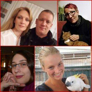 Der neue Vorstand von Tote Hunde e.V.