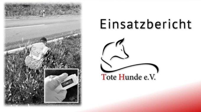 #totehunde – Bericht Nr. 114 Aus Nordrhein-Westfalen